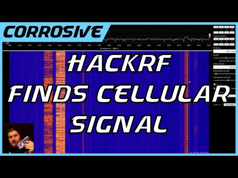 HackRF As a Spectrum Analyzer | Finding My Cellphone Signal