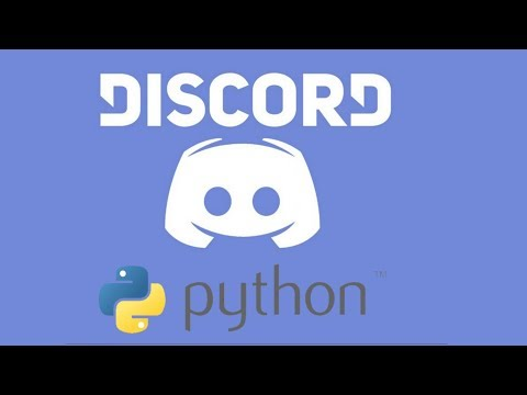 Discord Bot  with Python 3.6 Tutorial (Chat)