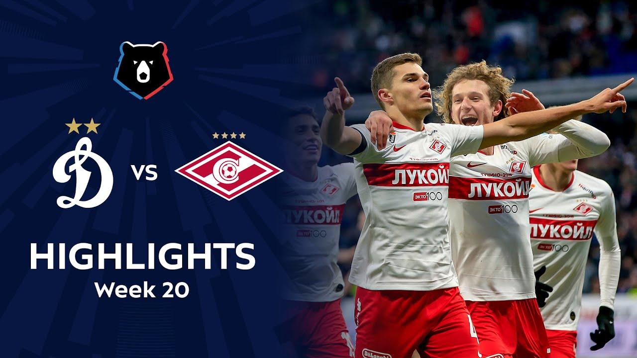 Highlights Dynamo vs Spartak (0-2) | RPL 2019/20
