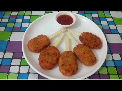 Recipe of Veg Lollipops, Veg Potato Crispy Lollipops, Beauty Tips