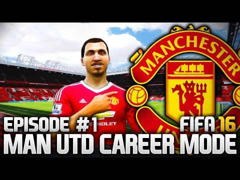 THE RETURN TO GLORY! MAN UTD CAREER MODE - EPISODE #1 (FIFA 16)