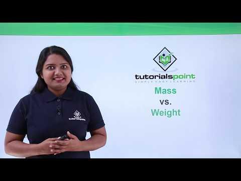 Class 9th Physics - GRAVITATION - Mass vs weight