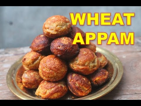 Wheat Appam Recipe - Godhumai Appam Recipe - Nei Appam Recipe