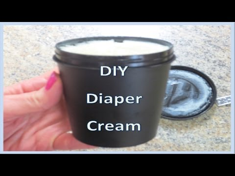 DIY Diaper Rash Cream