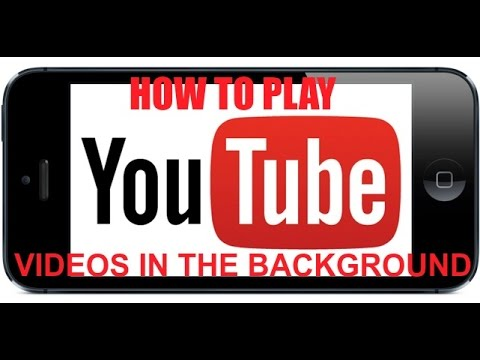 iPhone Hack: Play YouTube videos in the background on iPhone/iPad (No Jailbreak Required))