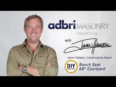 DIY - How to Build an AB™ Courtyard Bench Seat | Adbri Masonry