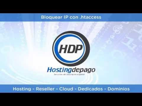 ¿Como bloquear un  ip desde .htaccess?