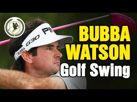 BUBBA WATSON SWING - SLOW MOTION GOLF SWING ANALYSIS