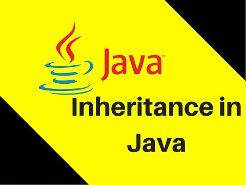 8.3 What is Inheritance in Java   Lecture   Tutorial