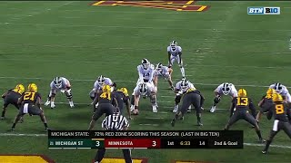Madre London Touchdown vs. Minnesota