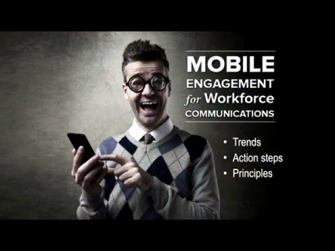 Speaking Demo: Mobile Engagement for Workforce Communication