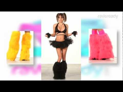 RaveReady Fluffies :  Fluffy Leg Warmers Review