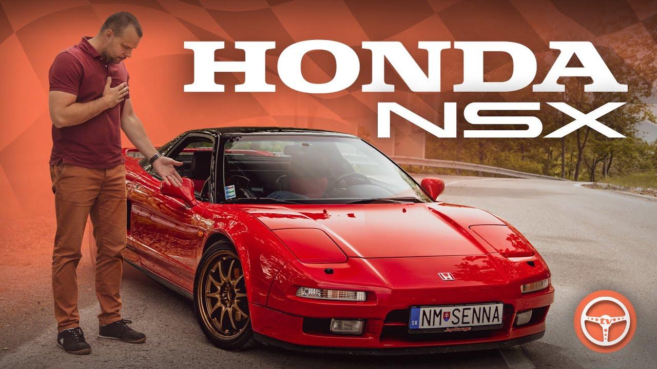 Janova Honda NSX NA1. Je aj v Red Bull reklame - volant.tv