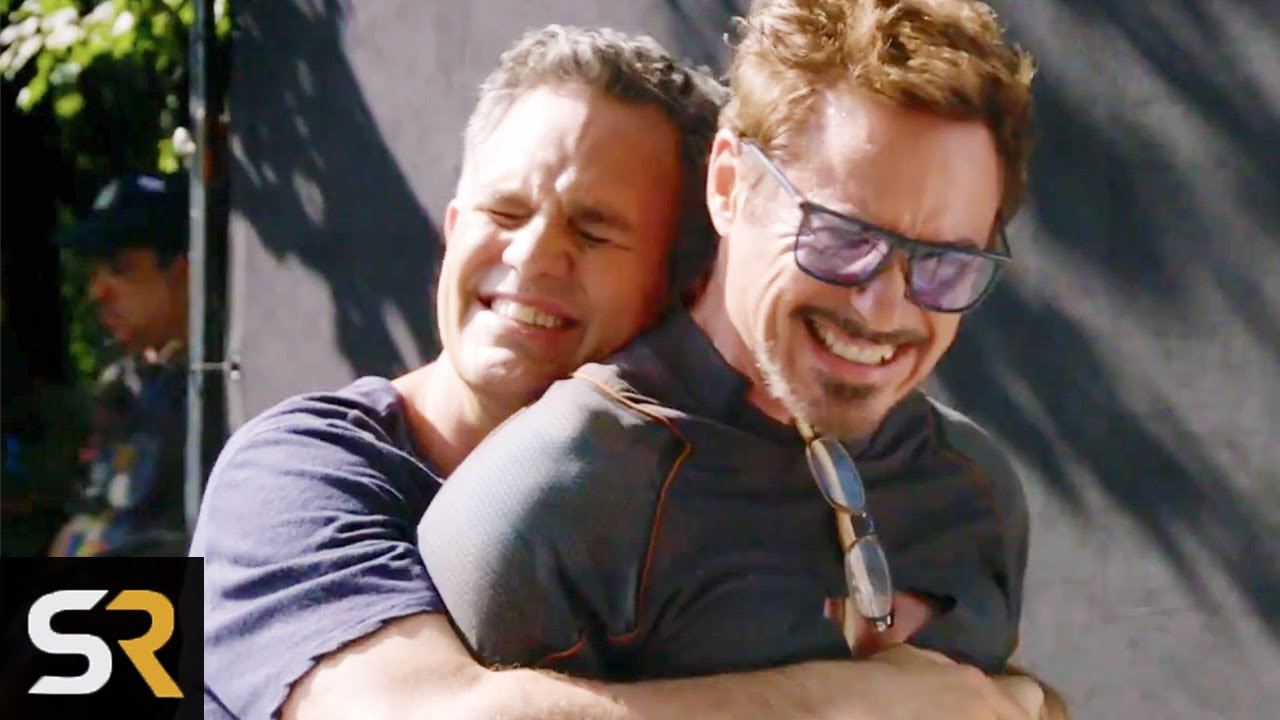 Behind The Scenes Of Marvel Actors Last Day On Set