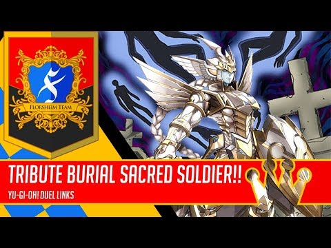 Tribute Burial with Black Luster Soldier - Sacred Soldier | King of Games [Yu-Gi-Oh! Duel Links]