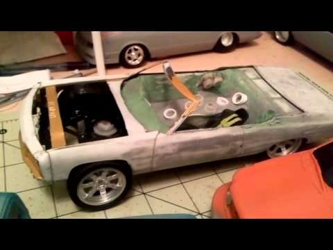 Custom model cars