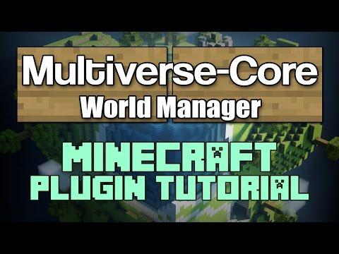 Multiverse-Core 1.12 Plugin Tutorial Minecraft