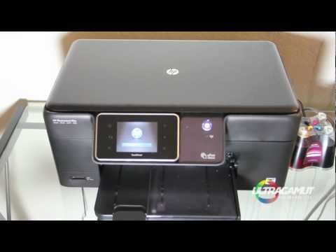 How to install a CIS for HP Photosmart Plus B210a Continuous Ink System