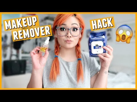 Lazy Girls Guide to Removing Makeup HACK // JaaackJack's Beauty Tip