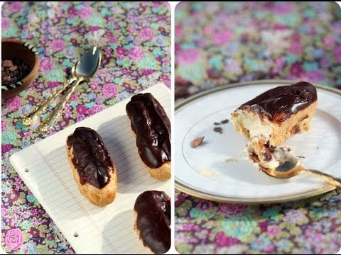 How to Make a Perfect Éclair - Pâte Choux Like a Pro