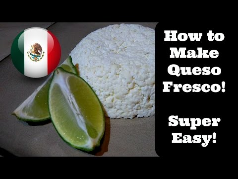 How to Make Queso Fresco, Very Easy!