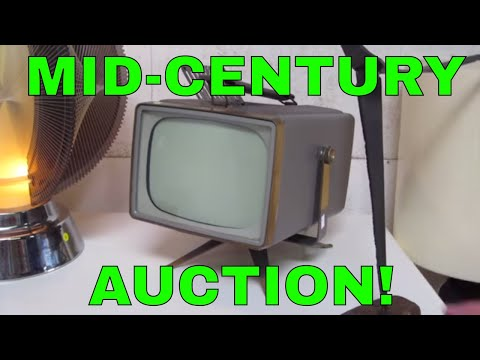 Look What I Found Online Auction Preview-Mid-Century Modern!