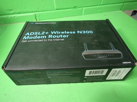 P63163 - NetComm Netcomm NB604N ADSL2+ Wireless N300 Modem Router - WLAN 802.11b/g/n