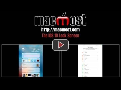 The iOS 10 Lock Screen (#1233)