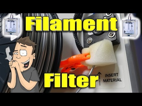 Custom 3D Printer Filament Cleaner Helps Stop Jams! #JerryRigged