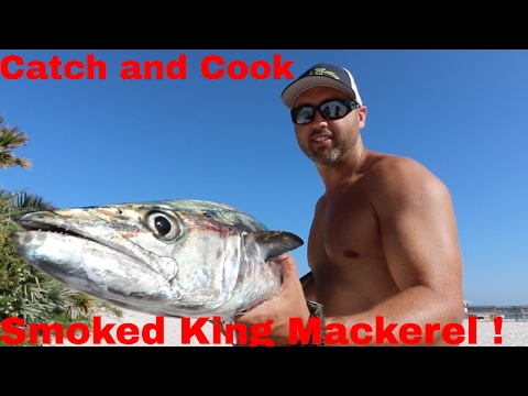 Catch and Cook : Smoked King Mackerel Recipe!