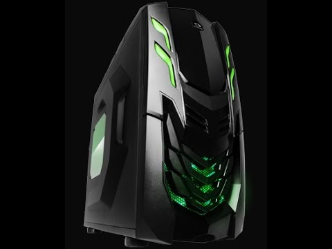 RAIDMax Viper GX Mid Tower Gaming Case Unboxing and Review