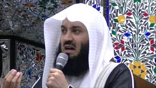 Spend your time & health wisely by  Mufti Ismail Menk