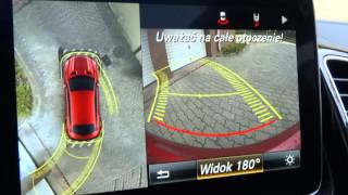 2015 2016 Mercedes-Benz GLE Coupe 360 Degree Reverse Backup Camera Reversing Parktronic System Test
