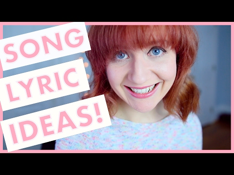 25 Song Lyric Writing Ideas! (Songwriting 101)