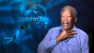 Morgan Freeman reveals the secret of his amazing voice