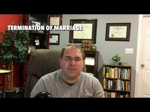 Termination of Marriage in Ohio Basics