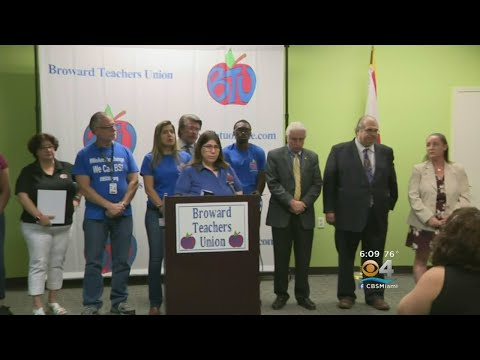 Broward Teachers Ask Gov. Scott To Stop Investing Pension Funds Into Gun Manufacturing