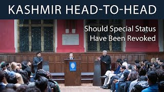 The Crisis in Kashmir | Head-to-Head Debate at The Oxford Union
