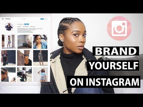 How to Brand Yourself On Instagram | Trishonnastrends
