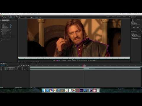 Put Yourself in a Movie Tutorial - Adobe After Effects