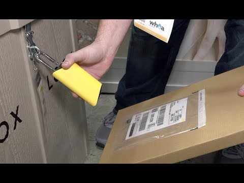 Boxlock - Lock to prevent porch pirates / theft of packages CES2018