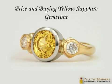 Price and Buying Yellow Sapphire Gemstone