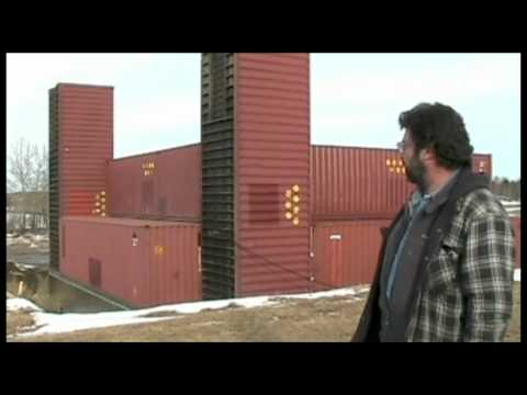 Part 1: Man building amazing home with shipping containers