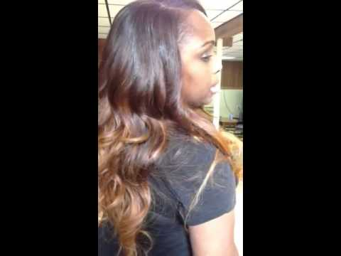 Hot Ombrè Brazilian Body Wave Hair!!!  A MUST SEE