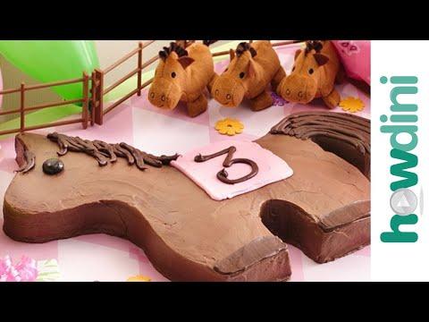 Birthday Cake Ideas: How to Make a Pony Birthday Cake