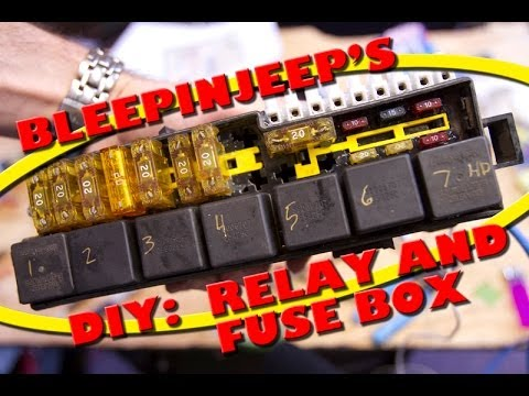 BleepinJeep's DIY:  Relay and Fuse Box