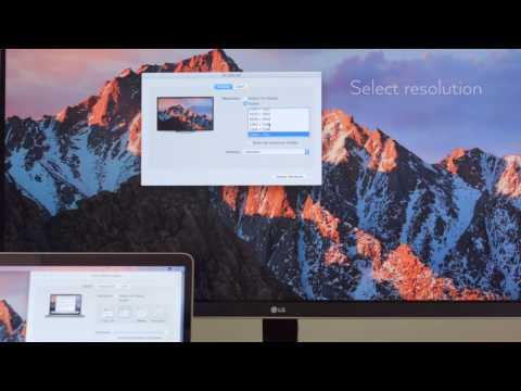 macOS Monitor Resolution Tutorial