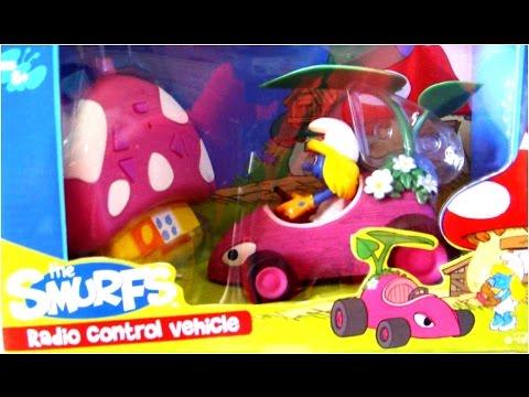 SMURF REMOTE CONTROL CAR BUMP & GO WITH 3D TWISTER CAR