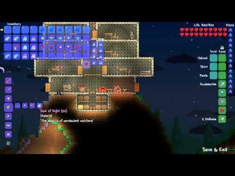 Terraria: Patch 1.1 — Hallowed Armor Set!