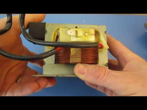 Troubleshooting Microwave Transformer testing Primary and Secondary with Multimeter